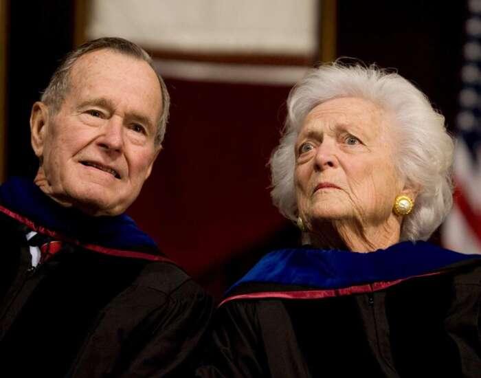 Elder ex-president Bush moved to intensive care; Barbara Bush also hospitalized