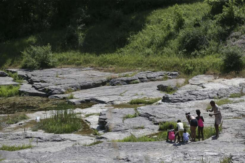 A Day Away: Coralville Lake's Devonian Fossil Gorge a trip back in time