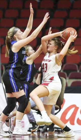 Photos: Montezuma vs. Saint Ansgar, Iowa Class 1A girls' state basketball quarterfinals