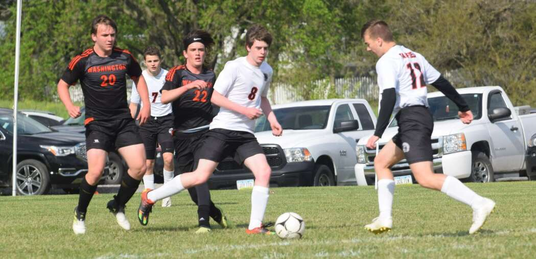 No. 15 Fairfield's 2nd half difference in soccer win over Washington
