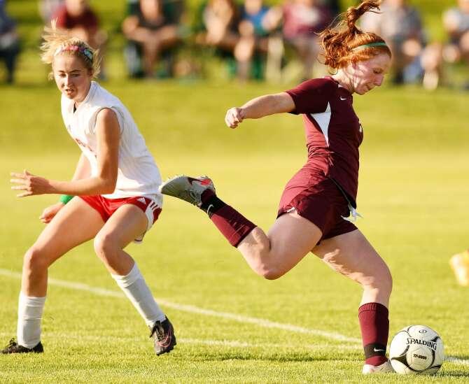 Photos: Mount Vernon vs. Marion, Iowa Class 2A girls' soccer regional semifinals