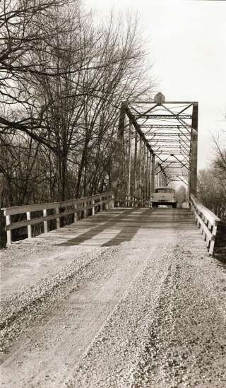 Time Machine: A tale of North Liberty's two bridges