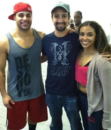 Cedar Rapids performer moves from tour member to audience member for 'In the Heights'