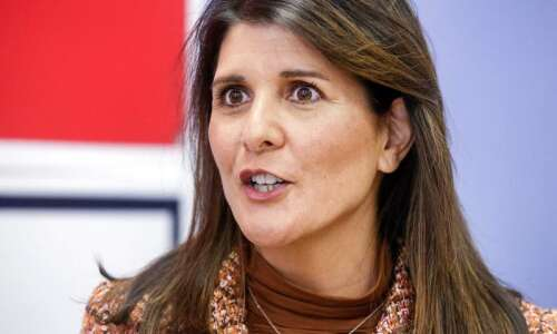 Nikki Haley sounds like a presidential candidate at Iowa GOP…
