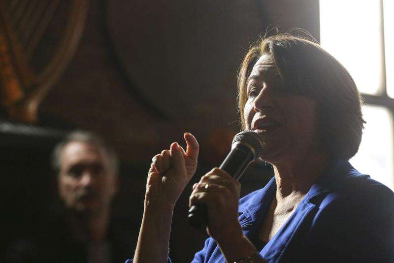 Some Iowa voters looking for 'the middle' look to Amy Klobuchar