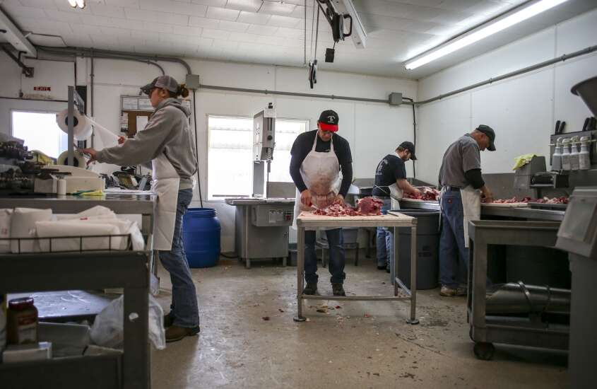 Slammed with demand, Iowa meat lockers could get state help