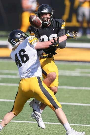 Photos: Iowa Hawkeyes spring football open practice
