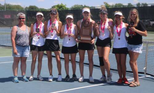 Fairfield takes 3rd at girls state tennis