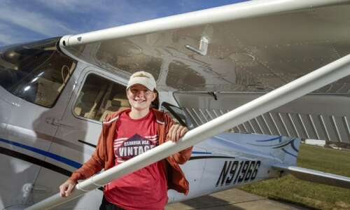 Aviation scholarship helps Iowa City teen soar to her dreams