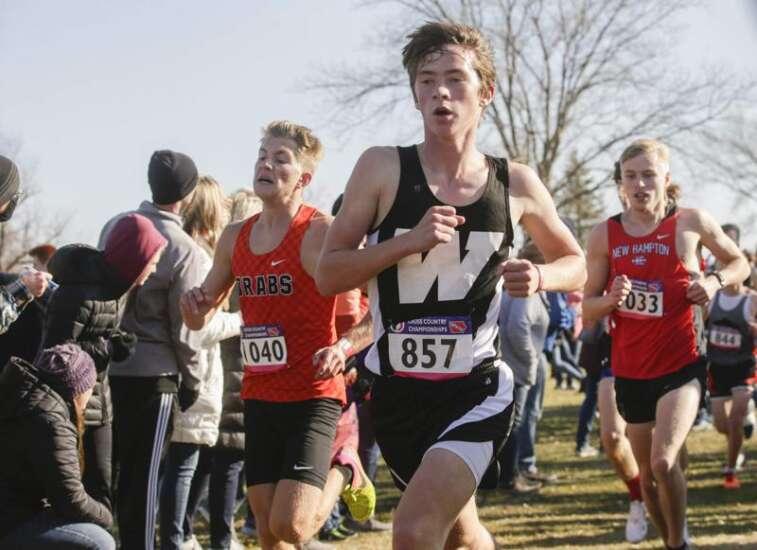 Photos: Class 2A Iowa high school state cross country meet