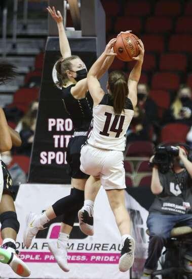 Photos: Iowa City West vs. Waterloo West, Iowa Class 5A girls' state basketball quarterfinals: