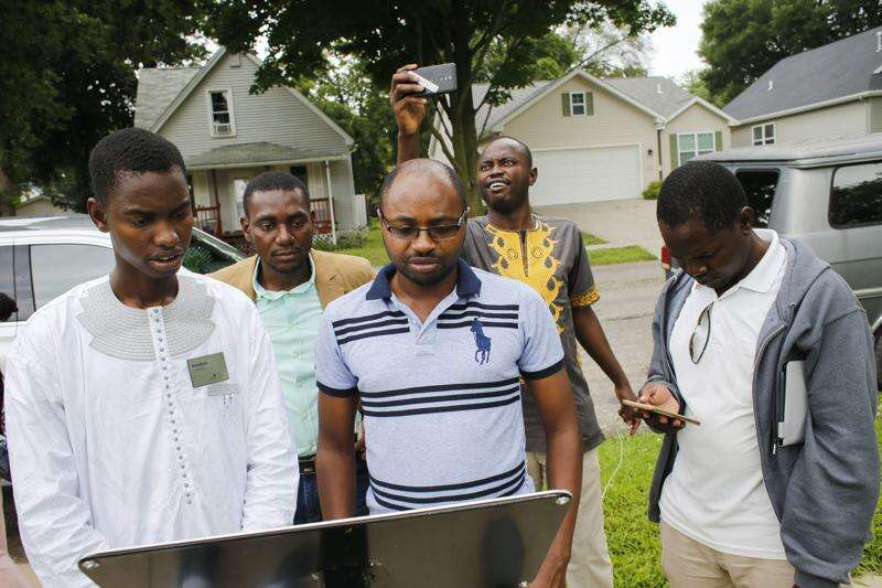 25 young Africans learn business skills in summer program through the University of Iowa