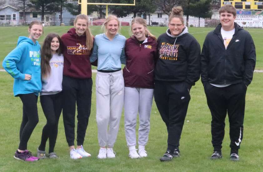 Union area bursting with Drake Relays qualifiers