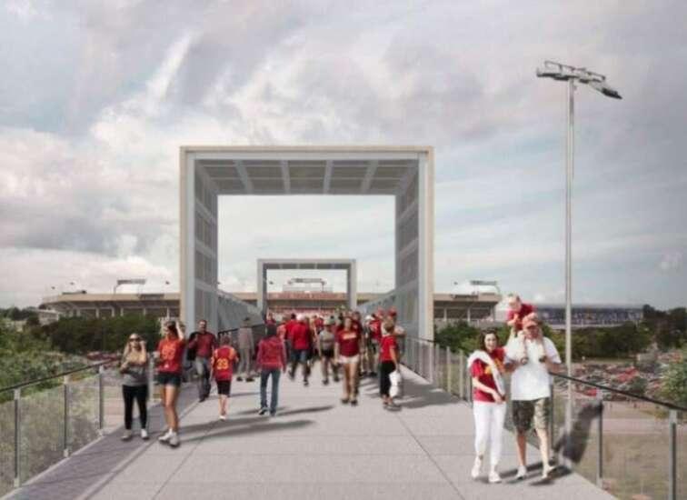 Iowa State continuing with gateway bridge into Jack Trice Stadium, thanks to 'generous support'