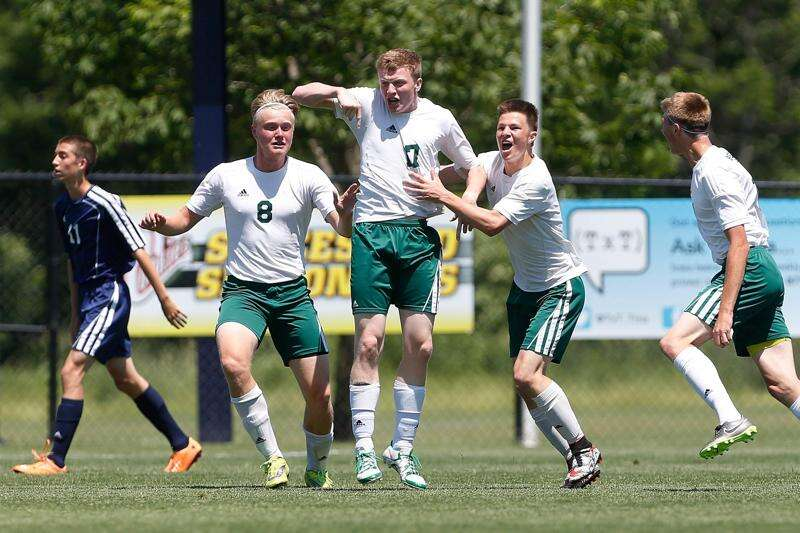 Beckman takes another opponent out of its game, shutting out Regina in state semifinals