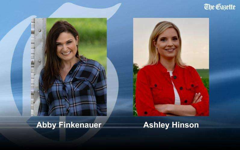 Republican Hinson upsets incumbent Finkenauer in Iowa House 1 race