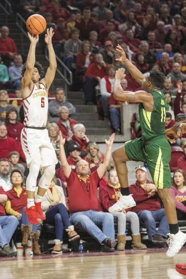 Iowa State freshmen lead Cyclones to first Big 12 win, 75-65 over Baylor