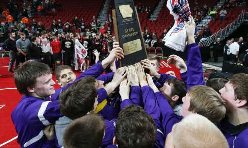 Alburnett claims State Duals wrestling crown on criteria over rival…