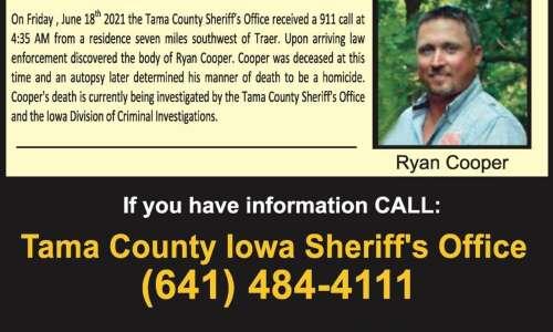 $17,000 reward offered for information in Iowa killing