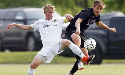 Cedar Rapids Kennedy boys' soccer blanked at state by defending…