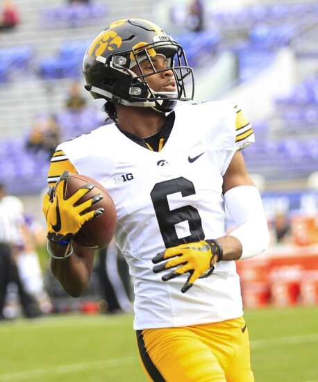 Nice, unadventurous consistency would be good for Iowa's Ihmir Smith-Marsette