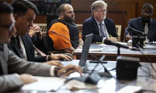 Replay: Thomas Woodard's sentencing for killing Anamosa prison workers