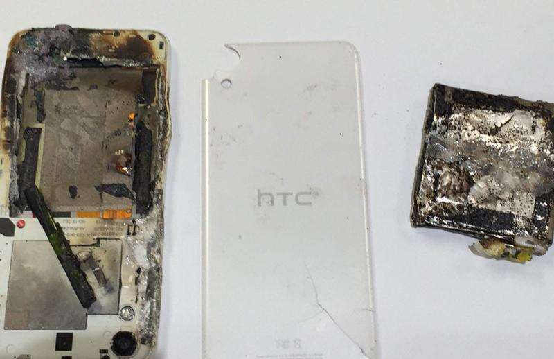 Fire department responds to Cedar Rapids fire caused by exploding cellphone