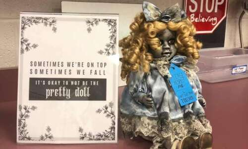What a racist doll can teach Iowans about silence and…