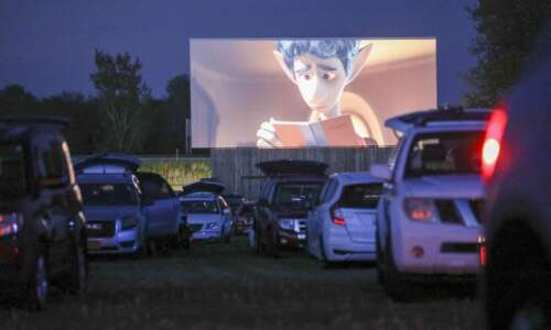 Eastern Iowa drive-in theater shows modern blockbusters in a throwback…