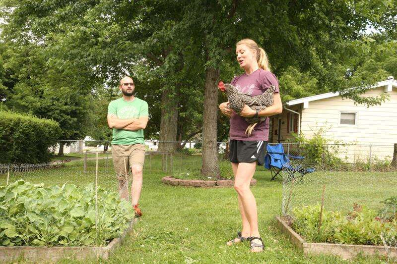 Urban homestead: Couple grows produce, chickens at Marion home