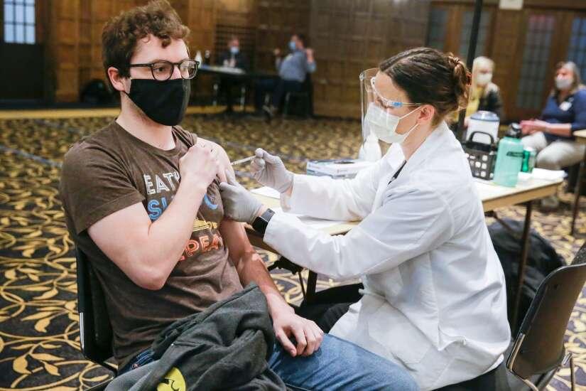 Iowa reports 127 new COVID-19 cases