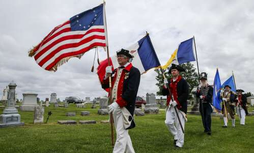 Revolutionary War veteran who moved to Iowa witnessed patriotism, compassion