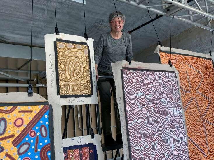 Exhibit brings art of Australia's Outback to downtown Cedar Rapids