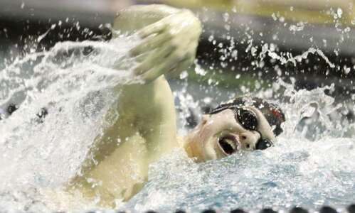 Photos: High school boys' swimming—Iowa City High vs. West High