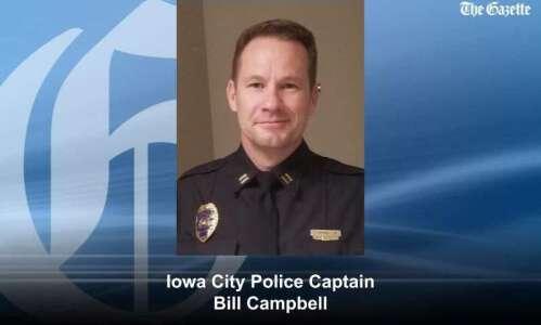 Bill Campbell to serve as interim Iowa City Police Chief