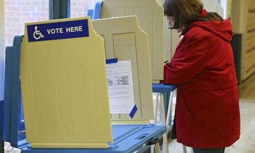 Closed by coronavirus, many Iowa City schools reopened as polling…