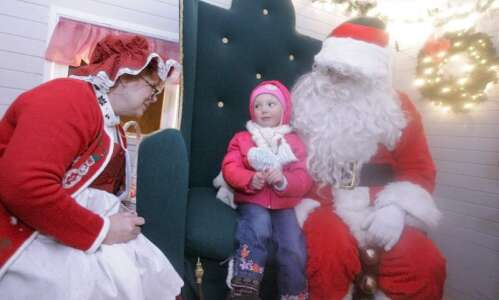 Marion's Santa and Mrs. Claus have decades of experience bringing…