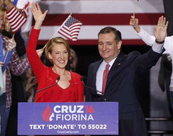 Podcast: 'On Iowa Politics' talks Carly Fiorina, water quality and if the sun is setting on Sanders campaign