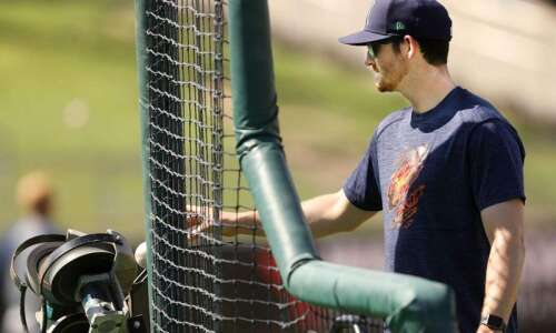 At a young age, Cedar Rapids Kernels hitting coach Ryan…