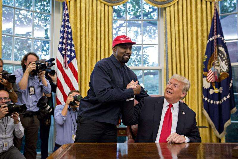 Kanye West says he's running for president; Twitter explodes