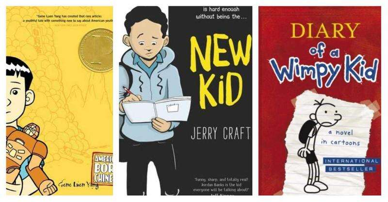 Don't be afraid to let children read graphic novels. They're real books.