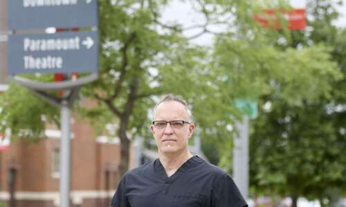 Businesses can pledge to be 'COVID-conscious' through Iowa City doctor's…