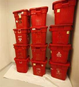 Tubs of body parts found at Kansas medical waste company