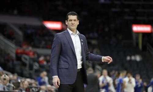 UNI's Ben Jacobson interviews for Minnesota men's basketball post