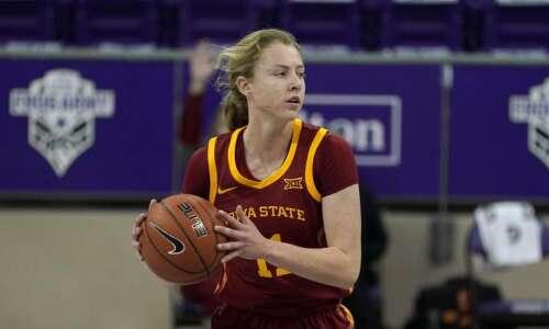 Emily Ryan thriving as freshman point guard for Iowa State…