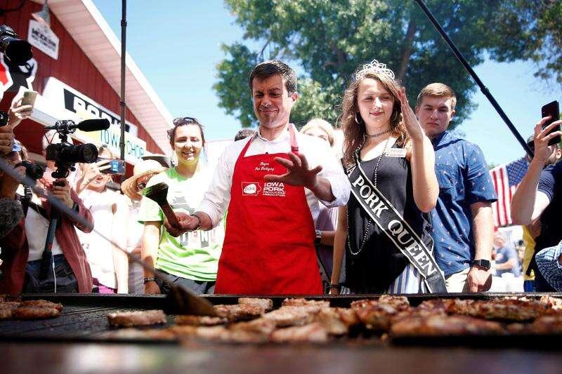 Democratic hopefuls campaign to reclaim rural Iowa