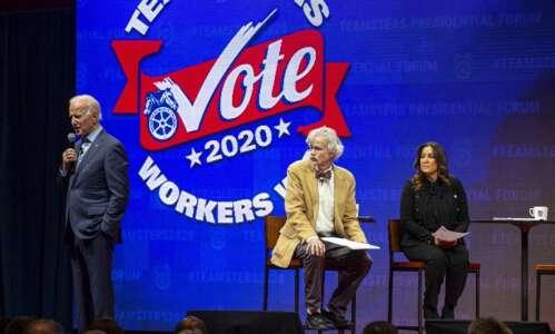 Cedar Rapids Rep. Running-Marquardt calls Joe Biden most electable, best…
