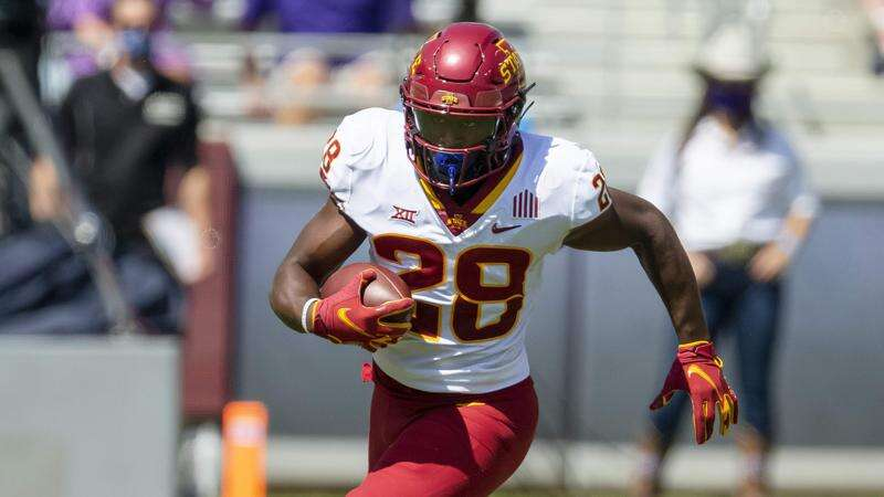 Iowa State's Breece Hall among the nation's best running backs