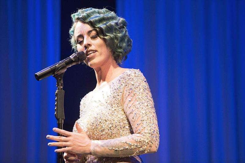 Singer Alisabeth Von Presley has 'a huge fire inside'