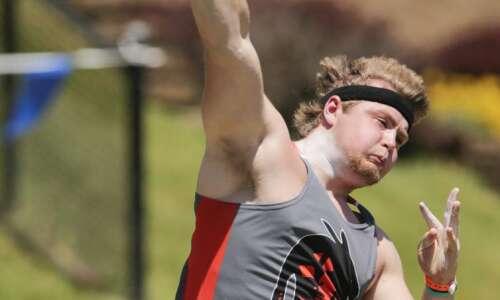 Iowa 2A boys' state track and field: Waukon's Brady Sullivan…
